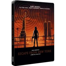 Escape From New York (4K Ultra HD & Blu-ray) (Zavvi Exclusive Steelbook) (Import)