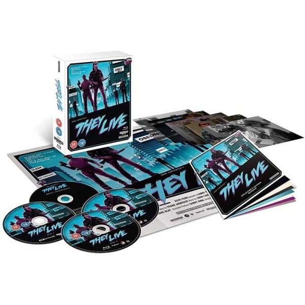 They live - 4K Ultra HD Blu-ray + Blu-ray (4-disc) (Import)