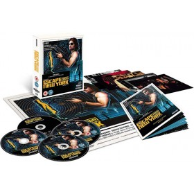 Escape from New York - 4K Ultra HD Blu-ray + Blu-ray (4-disc) (Import)