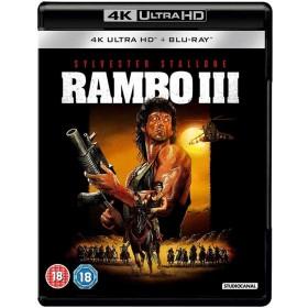 Rambo III - 4K Ultra HD Blu-ray + Blu-ray (Import)