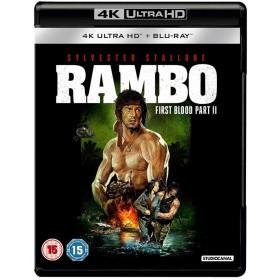 Rambo 2 - First Blood II - 4K Ultra HD Blu-ray + Blu-ray (Import)