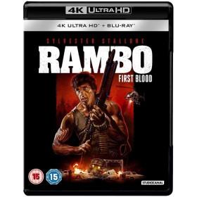 Rambo - First Blood - 4K Ultra HD Blu-ray + Blu-ray (Import)