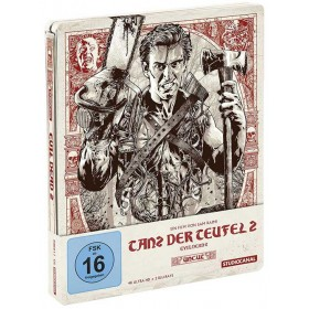 Evil dead 2 (4K UHD + Blu-ray) (Uncut) (Limited Steelbook) (Import)