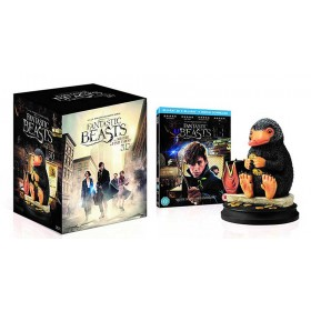 Fantastic beasts and where to find them: Ltd Niffler Statue (Blu-ray 3D + Blu-ray) (Import Sv.Text)