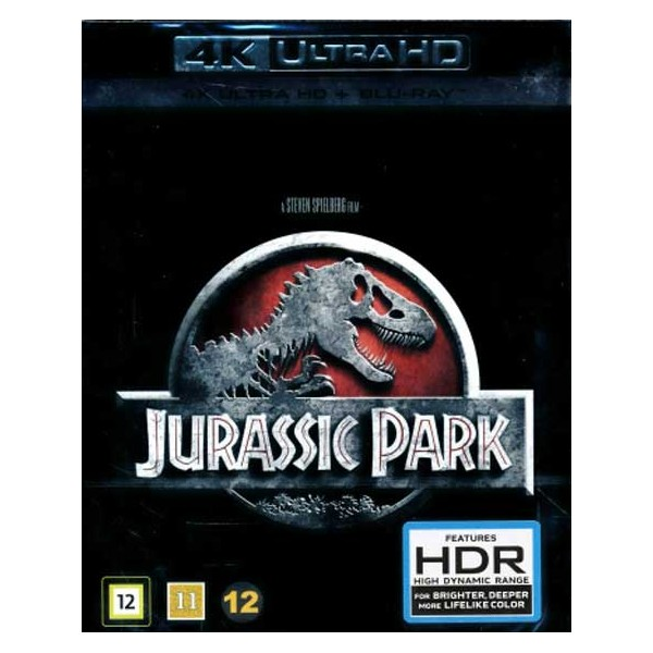 Jurassic Park (1993) - 4K Ultra HD Blu-ray + Blu-ray