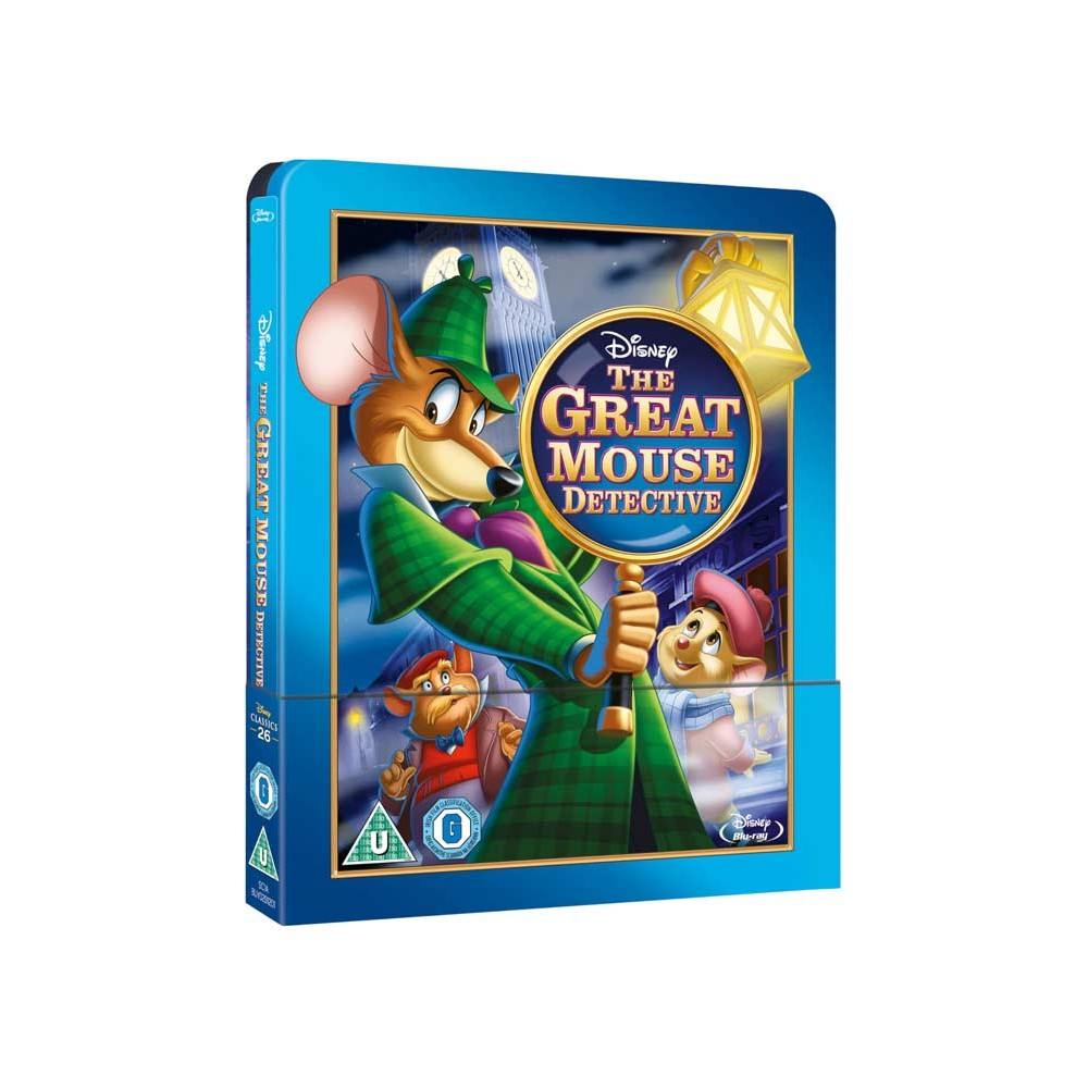 Basil The Great Mouse Detective Blu Ray Import