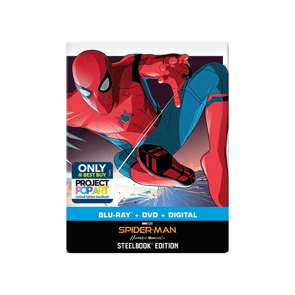 Spider-Man: Homecoming (SteelBook) (Blu-ray+DVD) (Import)