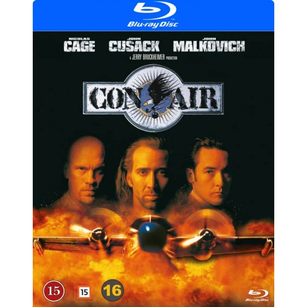 Con Air Blu Ray 8717418563424 Before you can say, pass the barf bag, the crooks control the plane, led by creepy cyrus the virus grissom. con air blu ray
