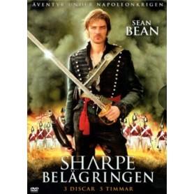 Sharpe - Belägringen (3-disc)