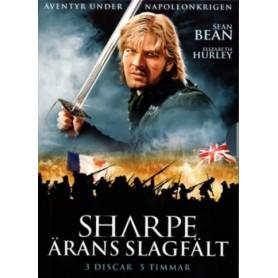 Sharpe - Ärans Slagfält (3-disc)