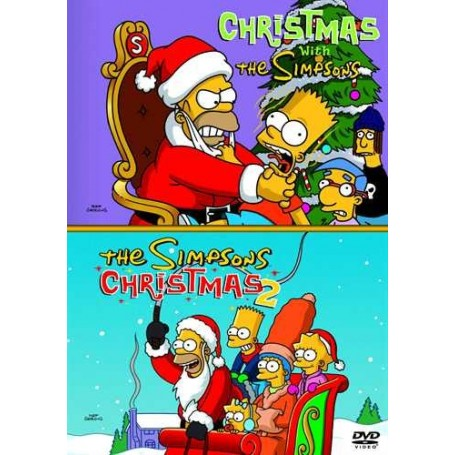 Christmas Simpsons.Christmas With The Simpsons The Simpsons Christmas 2