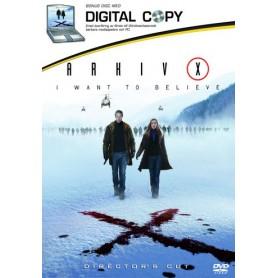 Arkiv X: I Want to Believe (+ Digital Copy) (2-disc)