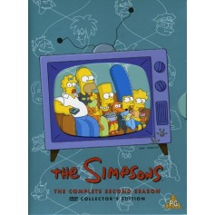 Simpsons - Säsong 2 (4 Disc set)