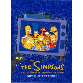 Simpsons - Säsong 4 (4-disc)