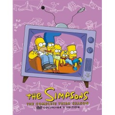 Simpsons - Säsong 3 (4 Disc set)