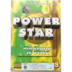 Karaoke - Power Star 3 (Madonna - 'N Sync) (Import)