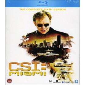 CSI: Miami - Säsong 6 (Blu-ray)