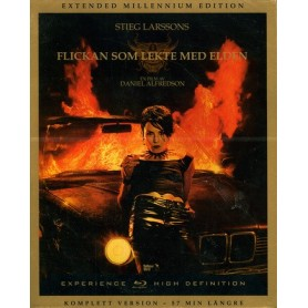 Flickan som lekte med elden: TV-versionen (Blu-ray)