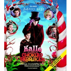 Kalle och chokladfabriken (Blu-ray)