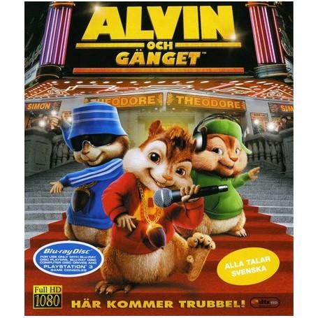 Alvin och gänget tecknad Porr