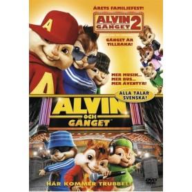 Alvin & Gänget / Alvin & Gänget 2 (2 disc)