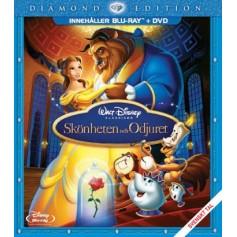 Skönheten och odjuret (2-disc Blu-ray + DVD)