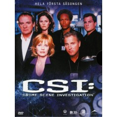 CSI: Las Vegas - Säsong 1 (6-disc)
