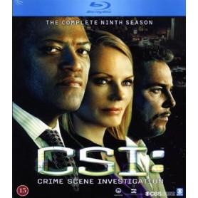 CSI: Las Vegas - Säsong 9 (3-disc Blu-ray)