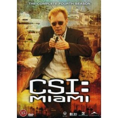 CSI: Miami - Säsong 4 (6-disc)