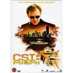 CSI: Miami - Säsong 6 (6-disc)