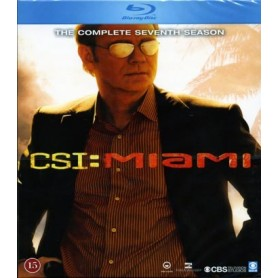 CSI: Miami - Säsong 7 (3-disc Blu-ray)