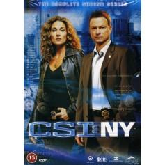 CSI: NY - Säsong 2 (6-disc)