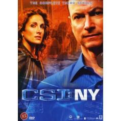 CSI: NY - Säsong 3 (6-disc)