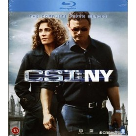 CSI: NY - Säsong 5 (Blu-ray)