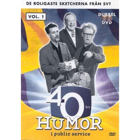 40 års Humor i public service - vol. 1