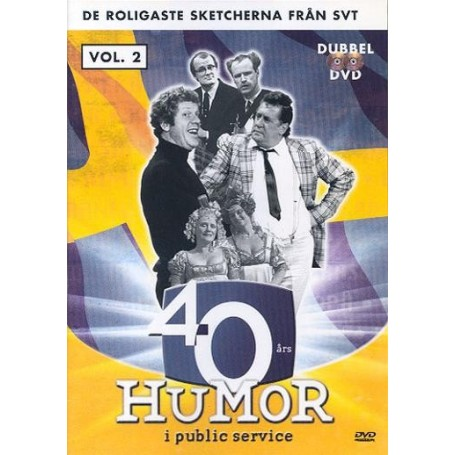 40 års Humor i public service - vol. 2
