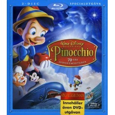 Pinocchio - Specialutgåva (2-disc Blu-ray + DVD)