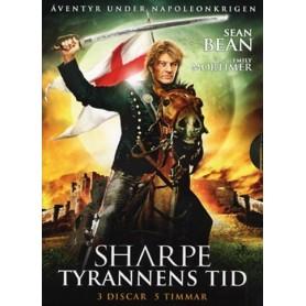 Sharpe - Tyrannens tid (3-disc)
