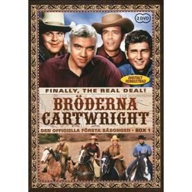 Bröderna Cartwright - Säsong 1 Box 1 (2-disc)