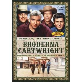 Bröderna Cartwright - Säsong 1 Box 2 (2-disc)