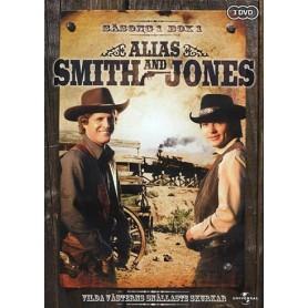 Alias Smith & Jones - Säsong 1 Volym 1 (3-disc)