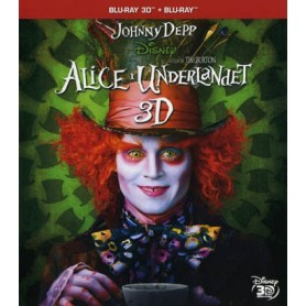 Alice I Underlandet (Real 3D + Blu-ray)