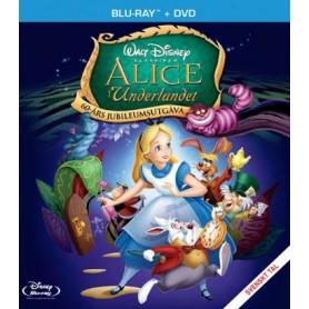 Alice i Underlandet - Jubiluemsutgåva ((Blu-ray + DVD)