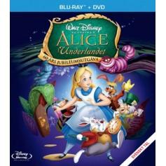 Alice i Underlandet - Jubiluemsutgåva (Blu-ray + DVD)