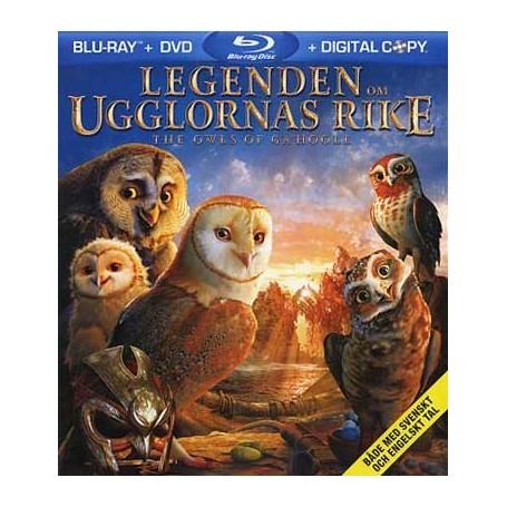 Legenden Om Ugglornas Rike (Blu-ray)