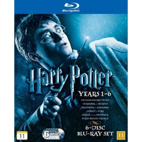 Harry Potter 1-6 collection (Blu-ray)