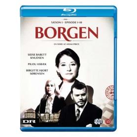 Borgen: Säsong 1 (Danskt TV-Drama) (Blu-ray)