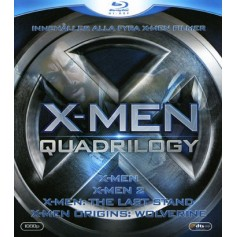 X-Men Quadrilogy (4-disc Blu-ray)