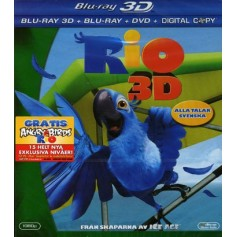 Rio (Real 3D + Blu-ray + DVD)