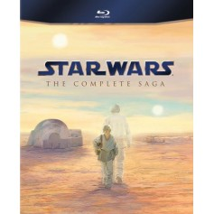 Star Wars - The Complete Saga (9-disc Blu-ray)